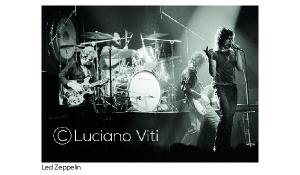 Led Zeppelin Zurigo 29-6-1980 -photo Luciano Viti