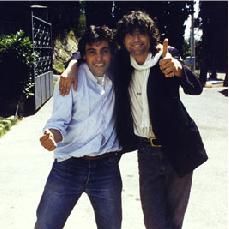 Viti e Page - Pistoia luglio 1984 - photo Nik Diletti