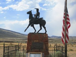 John Johnson Grave - Old Trail Town, Cody, Wyoming