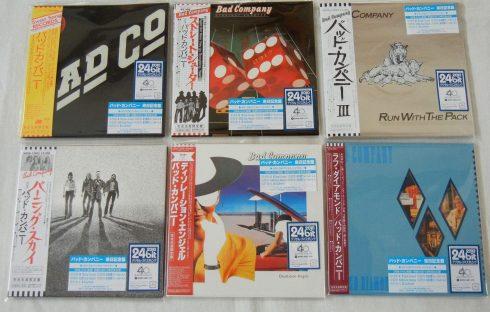 Bad Company six albums