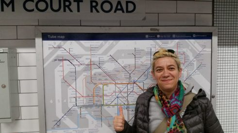 Saura, the London Underground map expert - photo TT