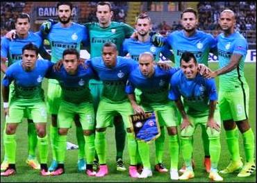L'Inter che ha affrontato l'Hapoel Be'er Sheva