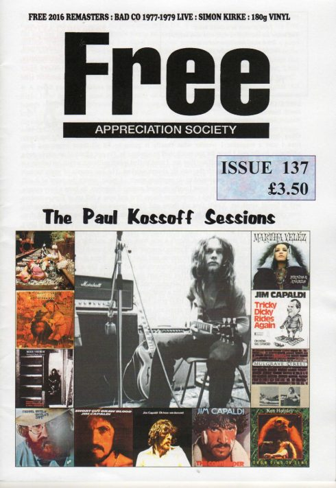 Free Appreciation Societi issue 137
