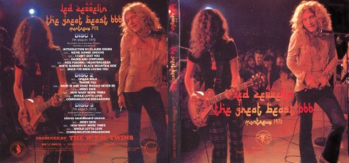 Great Beast 666 Led Zeppelin March 7th, 1970 Montreux Jazz Festival