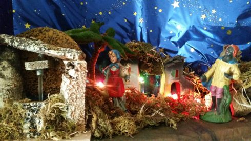 Presepe laico di TT 2016 - particolare: Mother Mary