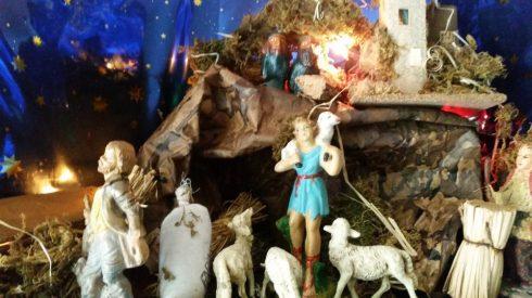 Presepe laico di TT 2016 - particolare: il Che e Fidel sulla Sierra Maestra