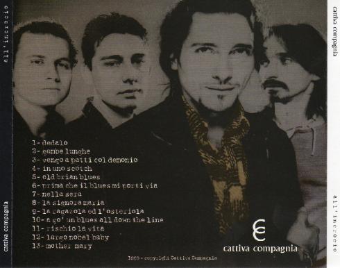 CATTIVA COMPAGNIA All'incrocio 1999 retro