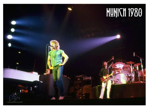 Led Zeppelin Munich 5-7-1980