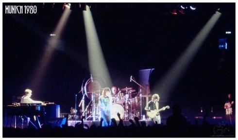 Led Zeppelin Munich 5-7-1980