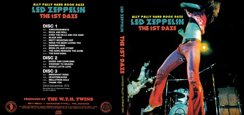 Led Zeppelin Ally Pally Hard Rock Daze 1972 UK Tour (Empress Valley)