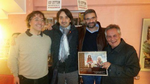 Amduscia, SlimTim, Dadgad, Alberto LG - Cinema cappuccini Genova 14/2/2017 (foto saura T)