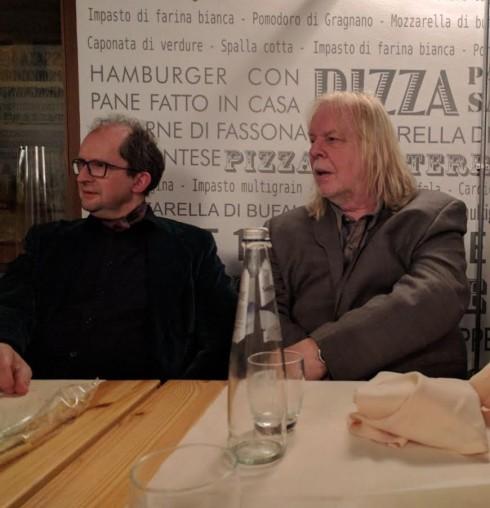 Paolo e Rick Wakeman -Udine, Teatro Nuovo, 09/02/2017 - foto TT