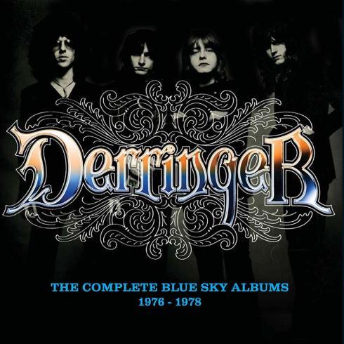 """DERRINGER """"The Complete Blue Sky Albums 1976-78"""""""