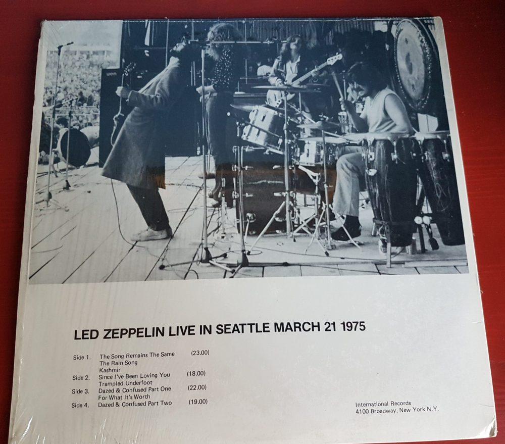 "LED ZEPPELIN ""Deus Ex Machina"" – Seattle, Center Coliseum 21"