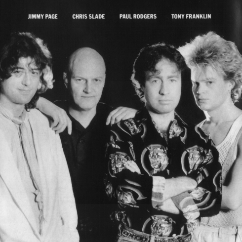 Promo shot 1984 - The Firm