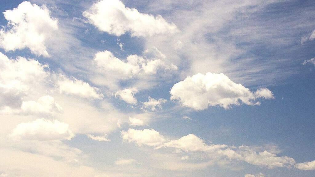 cielo nuvoloso a ferragosto