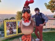 TT col pollo Osvaldo - Rossiland, Tavullia, Settembre 2021, foto TT