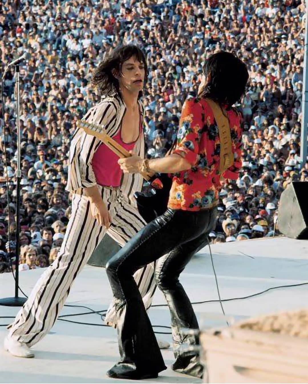 Mick & Keith american tour 1975